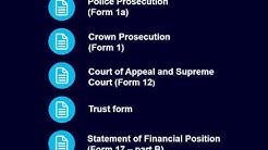 Combined criminal legal aid application form