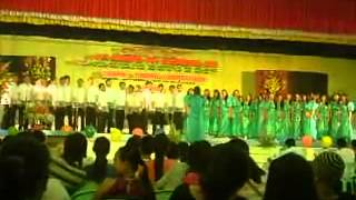 """NORSU-College of Education choir champion for """"My Song of Praise"""".mp4"""