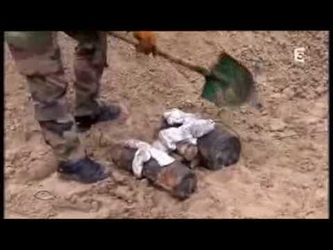 Reportage sur les plongeurs démineurs du 1 er GPD, diffusé sur  Thalassa le 01/2014