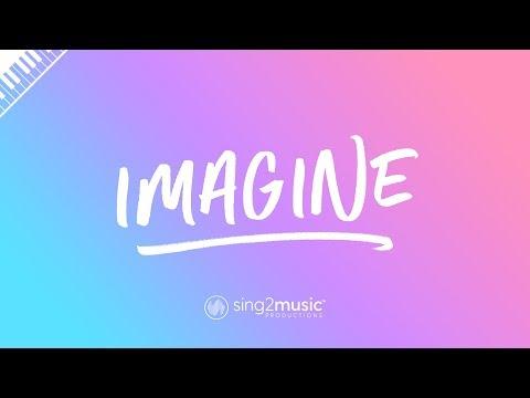 Imagine (Piano Karaoke Instrumental) Ariana Grande