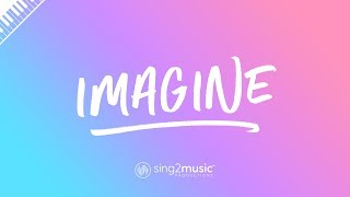 Imagine (Piano Karaoke Instrumental) Ariana Grande