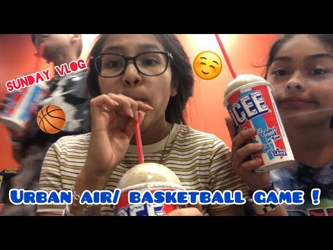 Urban Air & Basketball Game | Vlog !