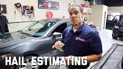 How to Estimate a Hail Damage Car   Paintless Dent Repair   Dentless Touch