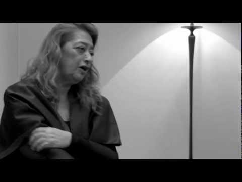 Entrevista Zaha Hadid   13 Congreso Arquine