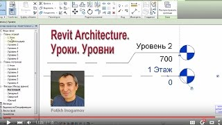 Revit Architecture. Уроки. Уровни