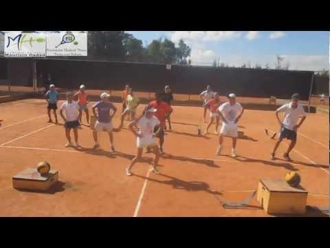 Preparación Fisica Academia de Tenis Mauricio Hadad