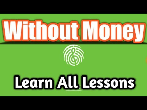 How To Get All Lessons In Yousicion [WITHOUT MONEY]