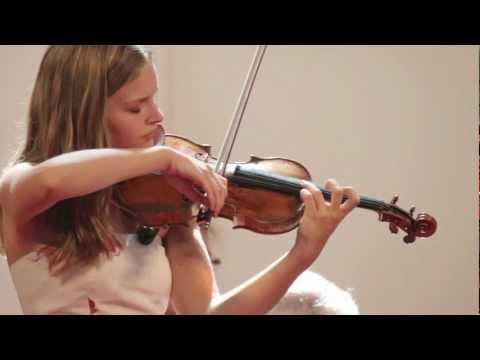 """Laura Marzadori - Ysaÿe, Violin Solo Sonata, No. 3, """"Ballade"""""""