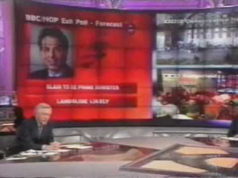 UK General Election 1997 - BBC Coverage