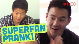 Super Fan Prank! ft Ki Hong Lee Vs Philip Wang!