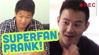 Super Fan Prank! ft Ki Hong Lee Vs Philip Wang!