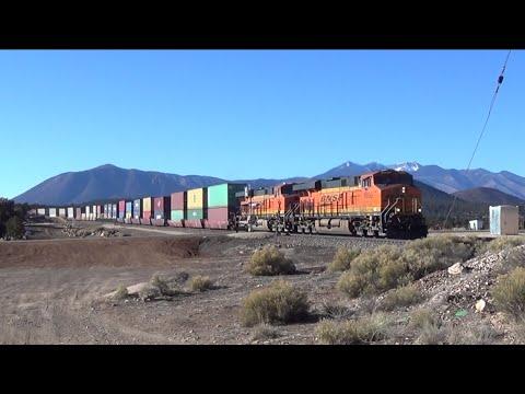 BNSF Operations around Flagstaff and Williams Arizona / Southern Transcon
