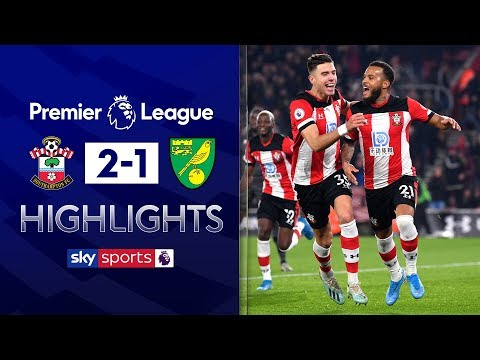 Saints victorious in relegation zone clash | Southampton 2-1 Norwich | EPL Highlights