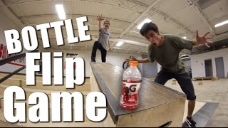 Game of BOTTLE FLIP! | Sam Tabor VS Ryan Bracken