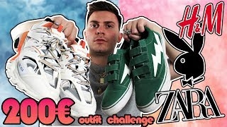 200€ OUTFIT CHALLENGE ME BALENCIAGAS ΚΑΙ REVENGE!