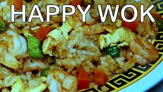 Shrimp Fried Rice : Authentic Chinese Cooking - Hong Kong Style.