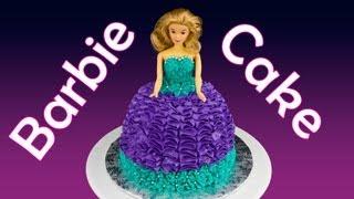 Barbie Cake / Princess Cake: How To Make A Barbie Cake By Cookies Cupcakes And Cardio