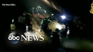 Video Rescue operation continues for boys, soccer coach in Thailand cave download MP3, 3GP, MP4, WEBM, AVI, FLV Juli 2018