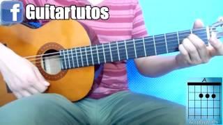 Como tocar MENTIROSA de ELEFANTE en guitarra acústica