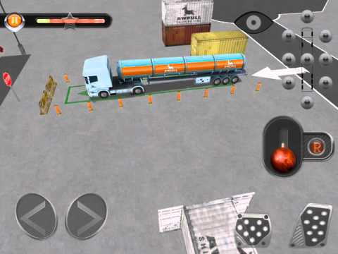 เกมรถบรรทุก รถบรรทุกน้ำมัน รถตักดิน