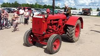 MTZ-5 mootoriga Deering. Masinapäev Eesti Põllumajandusmuuseumis