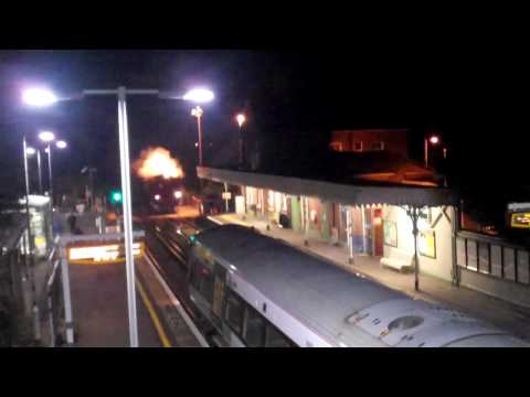"""34067 Tangmere """"Bath & Bristol Christmas Express"""" Angmering 10/12/2011"""