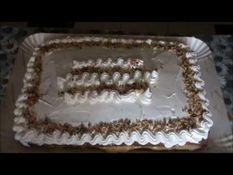 Compleanno - Torta paradiso farcita con crema