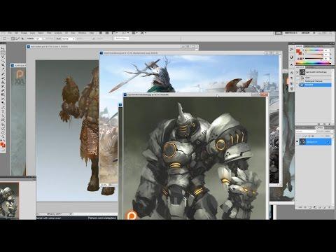 Mentorship program: digital painting and drawing class