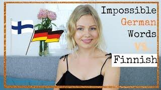 German vs. Finnish vs. English Language | Impossible German Words | Kia Lindroos