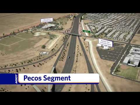 South Mountain Freeway Flyover Visualization