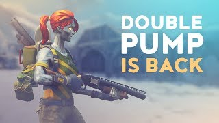 DOUBLE PUMP IS BACK - 35 KILLS! (Fortnite Battle Royale)