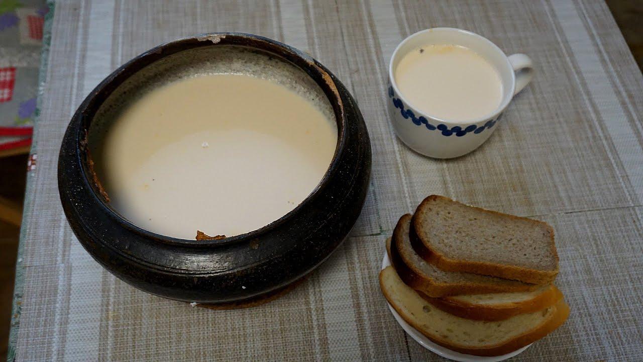 молоко из печи
