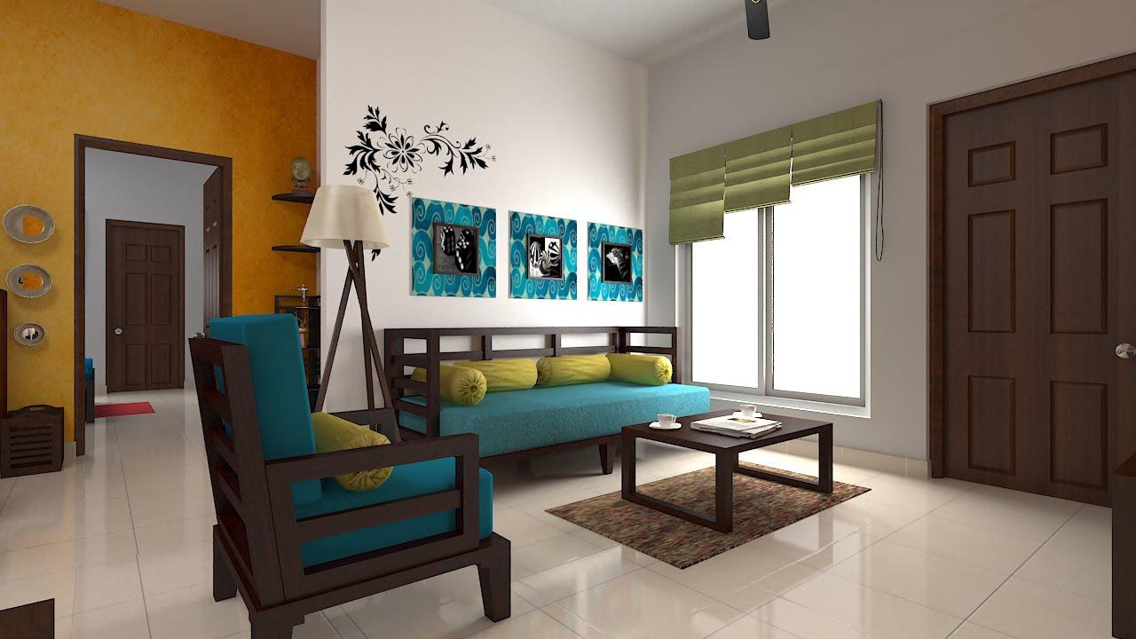 Furdo Home Interior Design Themes : New Ethnic | 3D Walk ... on House Interior Ideas  id=41911