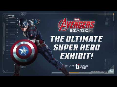 Marvel Avengers S T A T I O N  at Treasure Island Las Vegas