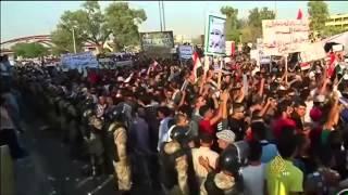 نزول الجيش العراقي إلى وسط الحلة