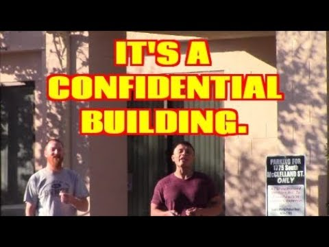 1st Amendment Audit, Santa Maria Parole Office: Confidential Building