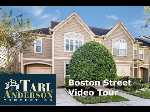 2603 Boston Street,  Houston, TX 77006 Video Tour
