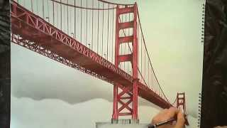 Drawing: Golden Gate Bridge