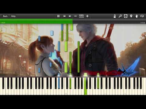 Devil May Cry 4 - Out of Darkness - Synthesia Piano Solo Tutorial