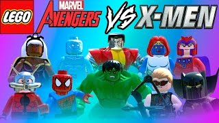LEGO Marvel Super Heroes | Vingadores VS X Men PARTE 2 em Briga de Herois #39