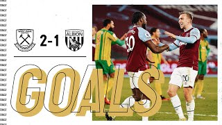 GOALS | WEST HAM UNITED 2-1 WEST BROMWICH ALBION