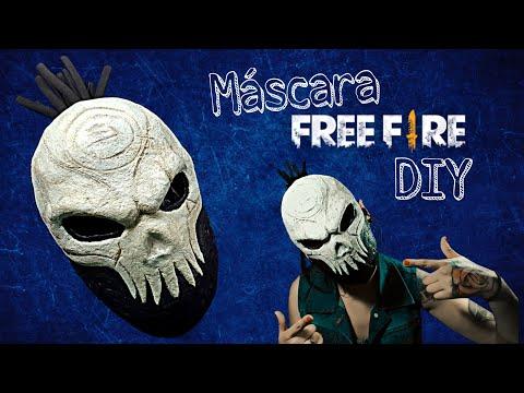 DIY- Cómo Hacer La Máscara De CALAVERA De Free Fire