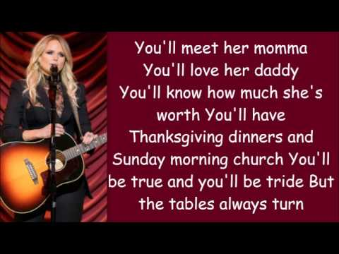 Miranda Lambert ~ To Learn Her (Lyrics)