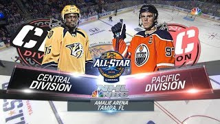 2018 NHL All Star Game: Central vs Pacific HIGHLIGHTS HD