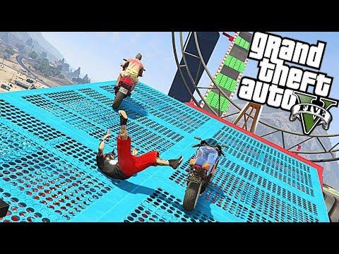 PARKOUR A LA FRANCESA | GTA 5 PARKOUR | Yokai Games |
