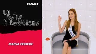 La Boîte à Questions de Miss France 2018 - Maeva Coucke –  11/01/2018