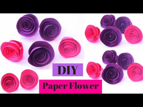 DIY Paper Flowers Tutorial | DIY Paper Roses