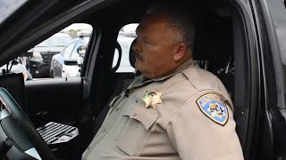 Watch the emotional sign off of a Merced CHP officer after 30 years of service