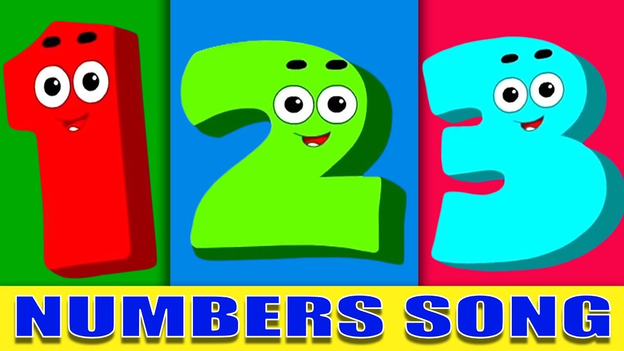 The Numbers Song For Kids Counting Songs For Children