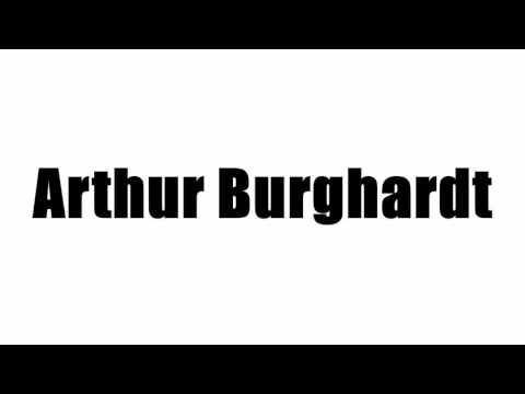 Arthur Burghardt